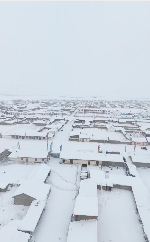 チベットの田舎はまだ雪景色❣️_c0162404_10552088.jpg