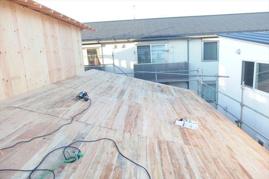 下太田 古材新築の家 建て方作業進行中です。_f0105112_04170880.jpg