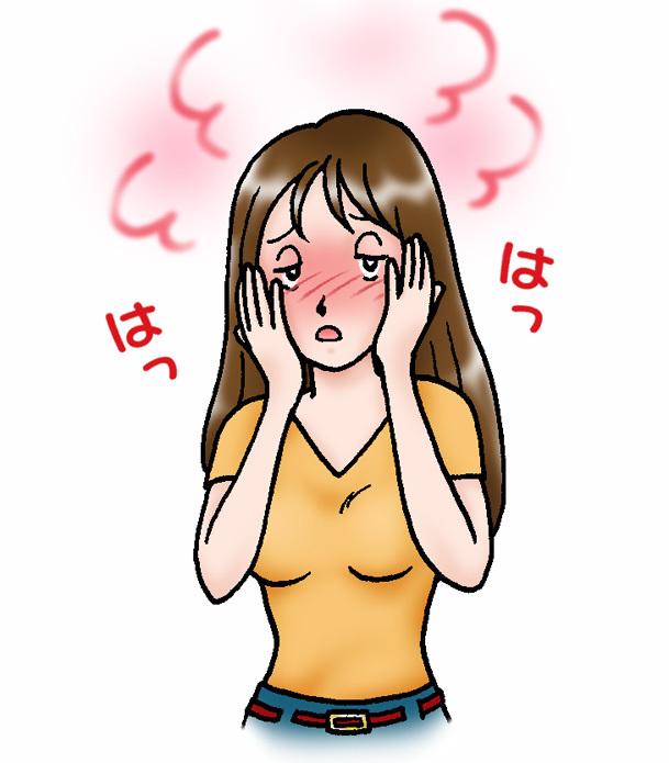 春の花粉症と顔が赤い湿疹(酒渣)と漢方薬_f0135114_14314303.jpg