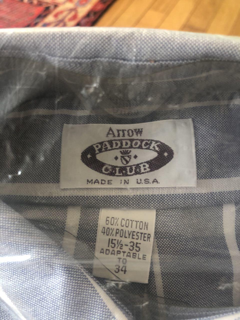 3月17日(火)80s~ デッドストック ARROW B.D シャツ!_c0144020_13053462.jpg