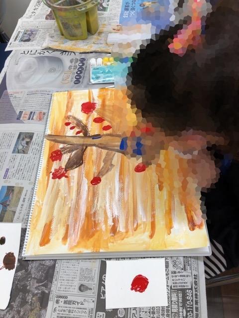 新しい日曜子ども絵画教室。_f0373324_16095931.jpg