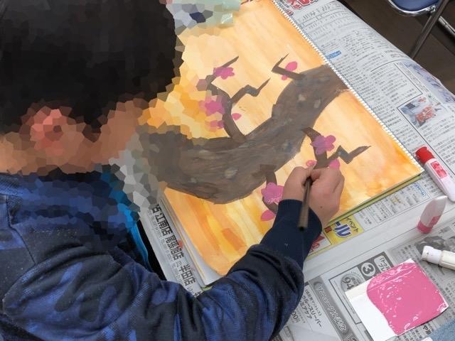 友遊カルチャー、通常の日曜こども絵画教室。_f0373324_16164714.jpg