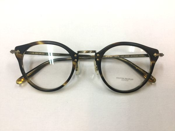 OLIVER PEOPLES  NEW MODEL 紹介します! by甲府店_f0076925_11442176.jpg