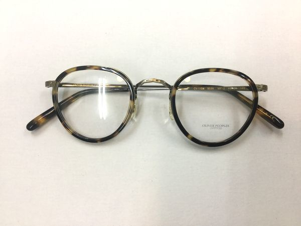 OLIVER PEOPLES  NEW MODEL 紹介します! by甲府店_f0076925_11442653.jpg
