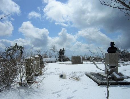 六甲山に雪が降ったよ~♪(2)_b0177436_20555060.jpg