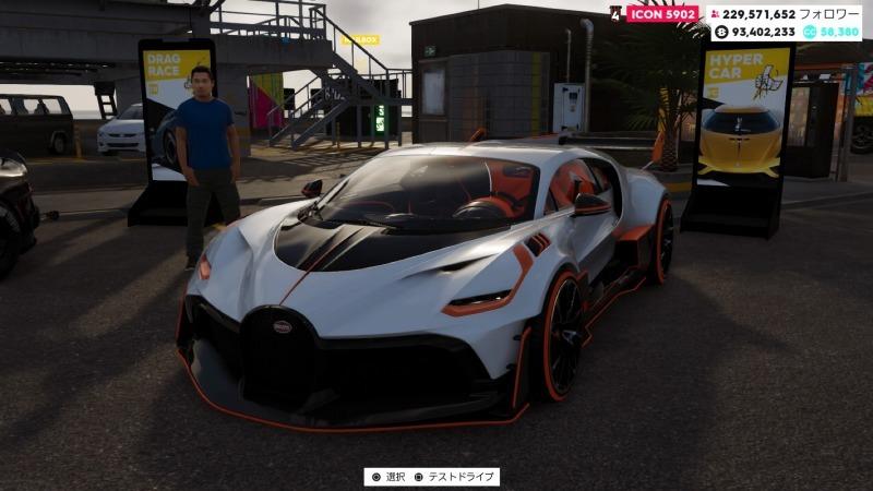 ゲーム「THE CREW2 未完成の痛車でライブリワード探しの旅」_b0362459_21395879.jpg