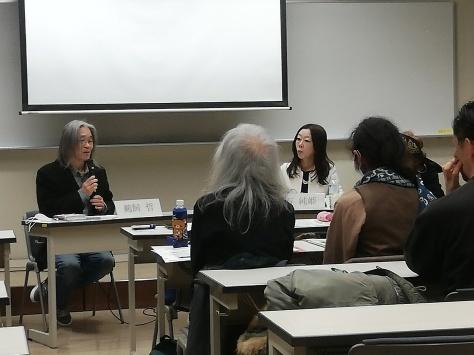 シンポジウム「朝鮮人とアイヌ民族――文化アイデンティティと歴史的つながり」に参加しました。_c0154961_11503764.jpg