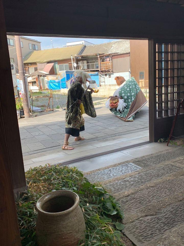 畳屋町獅子舞  兄弟で舞う_d0230676_09245240.jpg