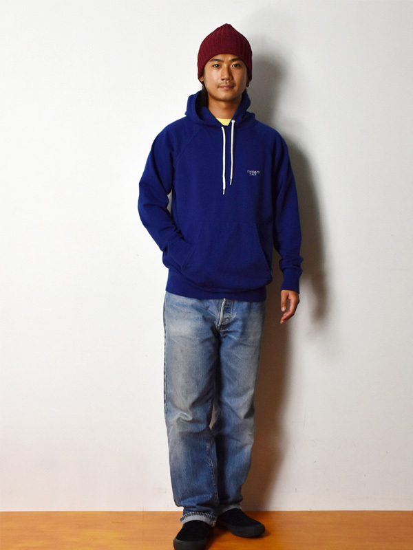 【DELIVERY】 STANDARD CALIFORNIA - Pima Cotton Pullover Hood Sweat_a0076701_12533424.jpg
