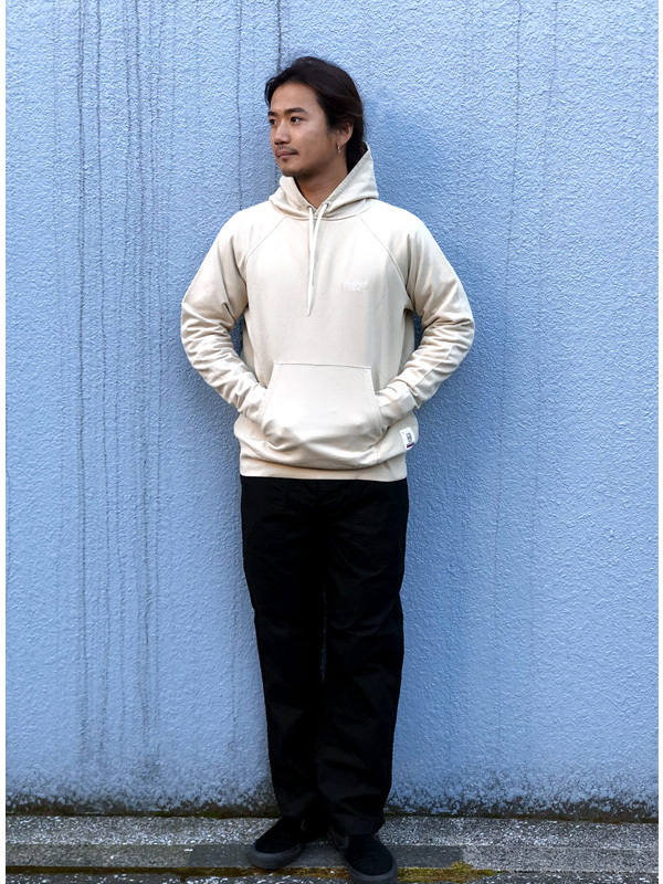 【DELIVERY】 STANDARD CALIFORNIA - Pima Cotton Pullover Hood Sweat_a0076701_12534556.jpg