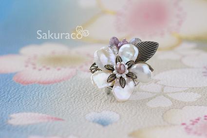 山桜の帯留でお花見を_b0327008_15014903.jpg
