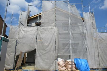 「駒場の家」大工工事終盤_b0179213_20063855.jpg
