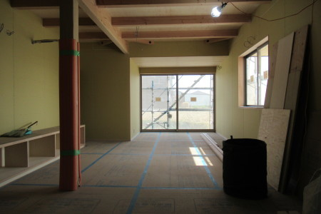 「駒場の家」大工工事終盤_b0179213_20064784.jpg