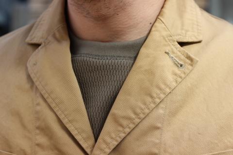 "「WORKERS」 \""Lounge Jacket, Light Chino, Sand Beige\"" ご紹介_f0191324_08155603.jpg"