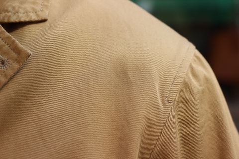 "「WORKERS」 \""Lounge Jacket, Light Chino, Sand Beige\"" ご紹介_f0191324_08160407.jpg"