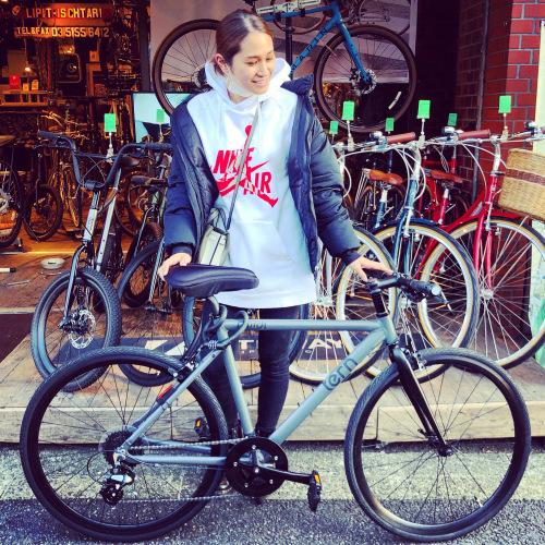 ☆tern ターン 特集☆「 CLUTCH クラッチ 」 クロスバイク 650c おしゃれ自転車 自転車女子 自転車ガール クラッチ ターン rojibikes クレスト_b0212032_18383153.jpeg