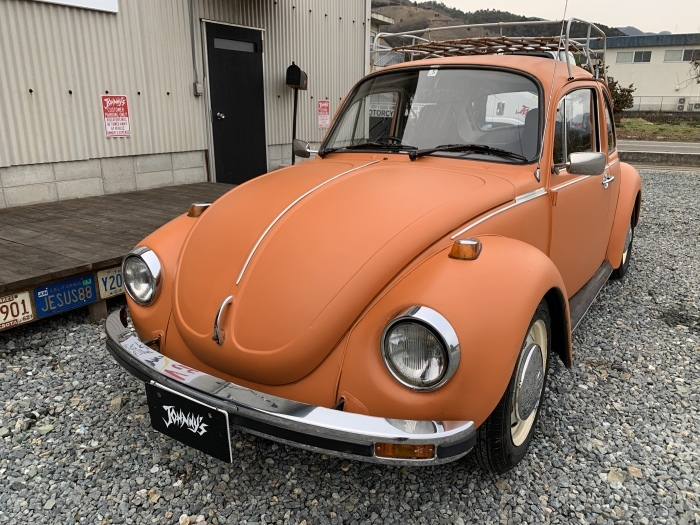 FOR SALE!! 1974 VW TYPE1 1303s ビートル!!_c0250233_16551179.jpg
