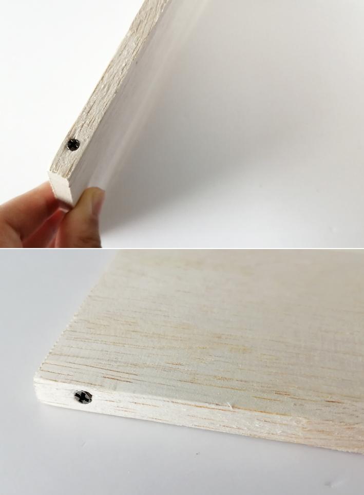 組み合わせるだけ☆セリアの木板で時短DIY☆_d0351435_09002161.jpg
