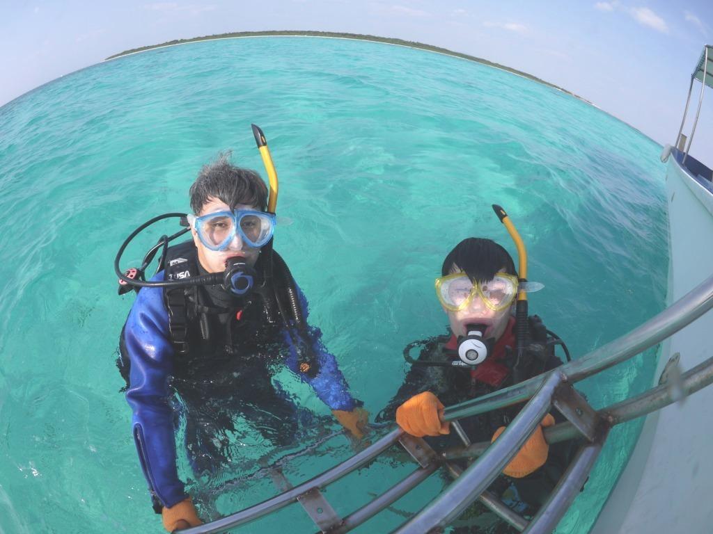 キレイな海で水中さんぽ♪_a0189838_09345566.jpg