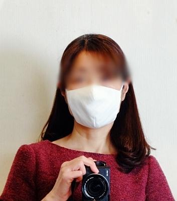 マスク用の白のトリプルガーゼ♪_b0194861_14450803.jpg
