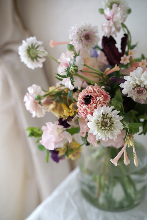 2月のレッスン ナチュラルな花束 4_f0127281_19285232.jpg