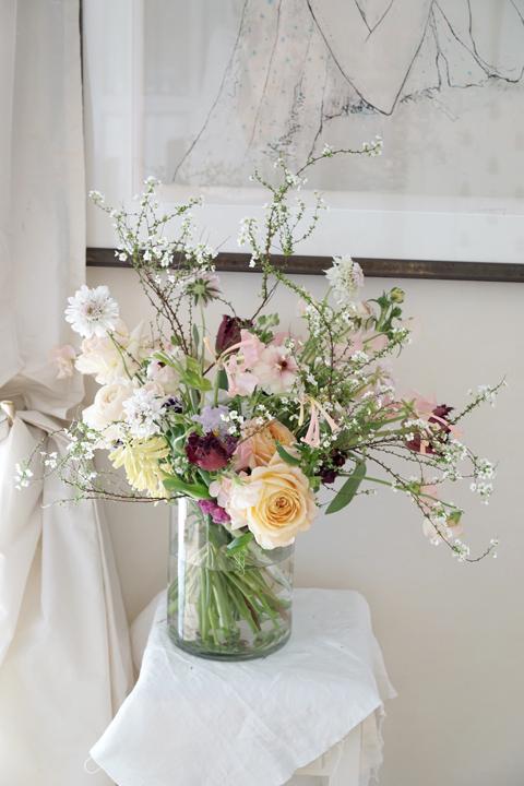 2月のレッスン ナチュラルな花束 2_f0127281_19413609.jpg