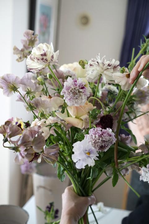 2月のレッスン ナチュラルな花束 3_f0127281_19534790.jpg