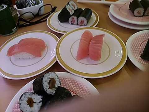 大学病院が終わってからかっぱ寿司でランチ_f0019498_14330571.jpg