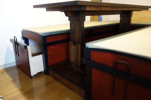 古い和家具のリメイク 2020.03.19_c0213599_23345917.jpg