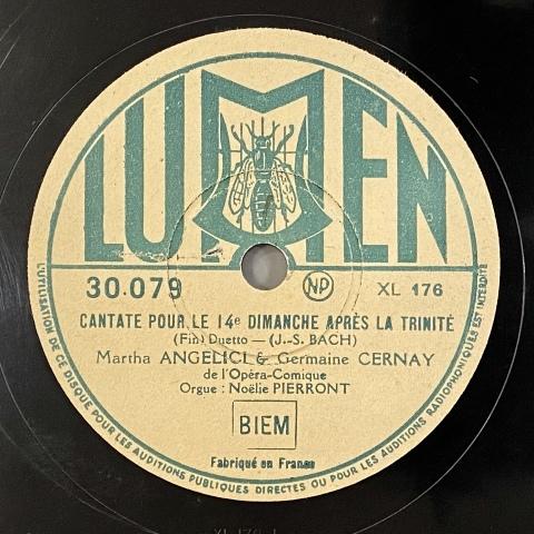 女性声楽のSP盤をアップしました その①_a0047010_14261082.jpg