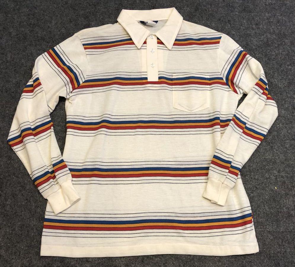 3月20日(金)入荷! デッドストック 80s MADE IN U.S.A  DEE CEE Long sleeve ポロシャツ!_c0144020_14202435.jpg