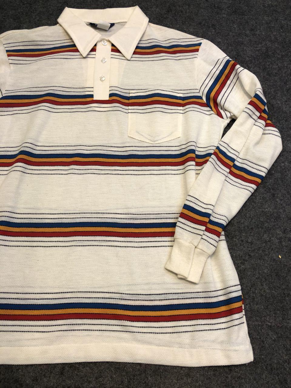 3月20日(金)入荷! デッドストック 80s MADE IN U.S.A  DEE CEE Long sleeve ポロシャツ!_c0144020_14202821.jpg