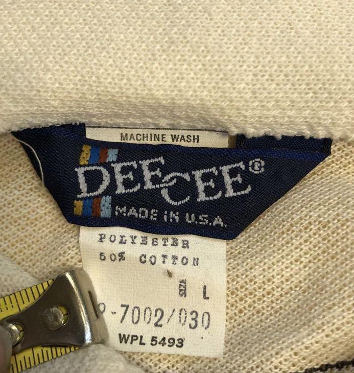 3月20日(金)入荷! デッドストック 80s MADE IN U.S.A  DEE CEE Long sleeve ポロシャツ!_c0144020_14210097.jpg