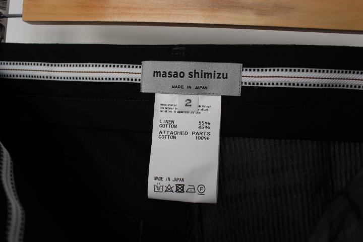 masao shimizu 2020 S/S 入荷_f0170424_12522549.jpg
