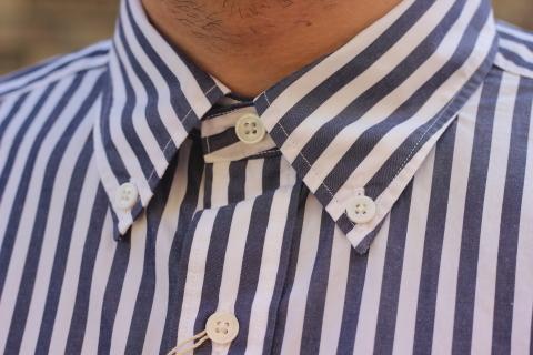 """「WORKERS」 大人がラフに着れるオーバーサイスシャツ \""""BIG BD\"""" ご紹介_f0191324_08262431.jpg"""