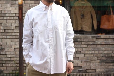 """「WORKERS」 大人がラフに着れるオーバーサイスシャツ \""""BIG BD\"""" ご紹介_f0191324_08271955.jpg"""