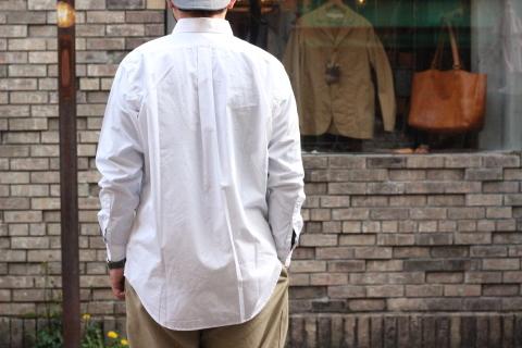 """「WORKERS」 大人がラフに着れるオーバーサイスシャツ \""""BIG BD\"""" ご紹介_f0191324_08273669.jpg"""