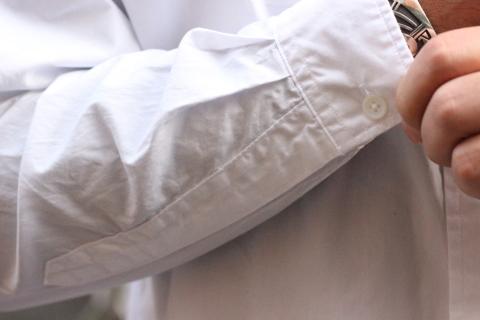 """「WORKERS」 大人がラフに着れるオーバーサイスシャツ \""""BIG BD\"""" ご紹介_f0191324_08281447.jpg"""