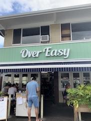 ハワイの朝ごはん〜over easy in kailua!! _c0187025_10212529.jpg