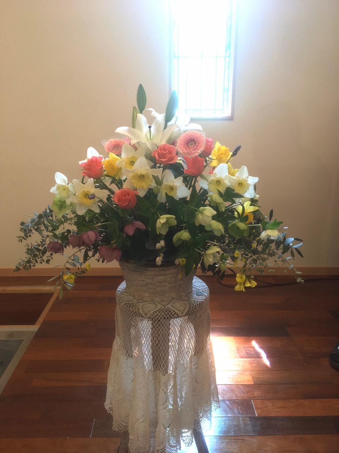 とっても素敵な洗礼式がありました!(*^▽^*)_d0120628_21411152.jpg