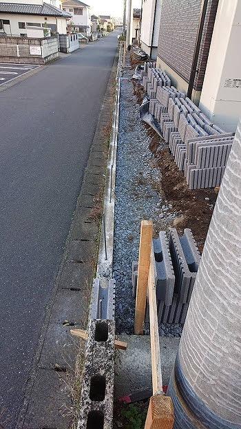 真岡市T様邸(外構工事 ベース掘削・枠設置・ベースコンクリート)_c0313938_10552904.jpg