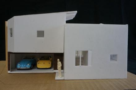 『すみきりの家』1/50模型でスタディー中_e0197748_09271121.jpg