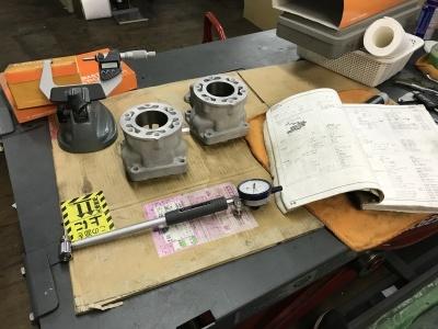 NSR MC21 焼き付き修理 ④_e0114857_10342235.jpg
