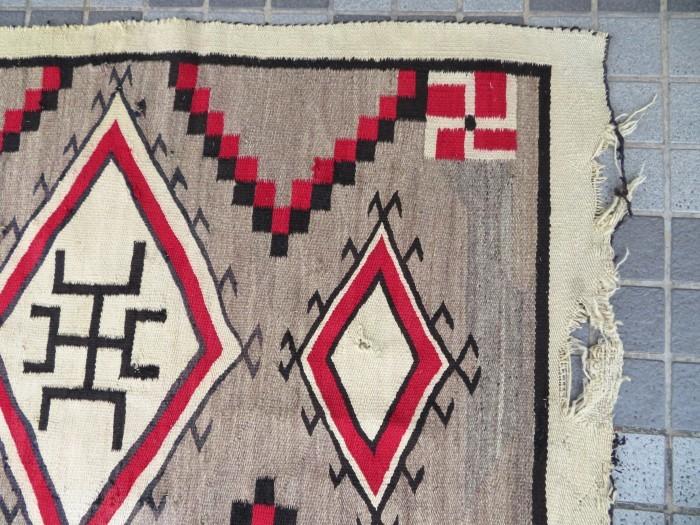~20\'s Navajo Swastika Rug + 今週末も新商品大量投入致します !!_e0187362_13401728.jpg