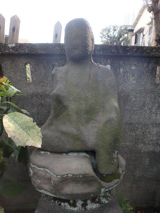 立膝座りを石仏から見る、澤蔵司稲荷、道切りやりたい、過去写真を見て自由を思う2020/3/17-18_b0116271_15424368.jpg