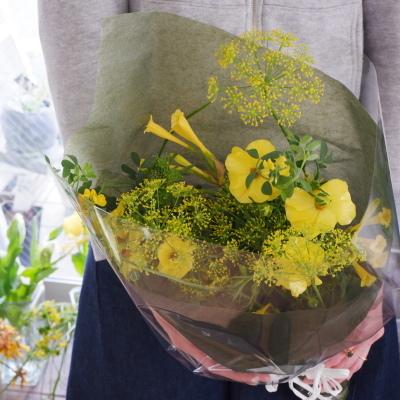 オークリーフ花の教室(落合さんの作品)_f0049672_19381662.jpg