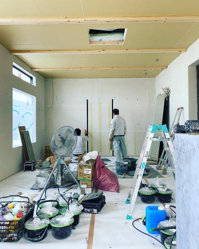 愛知県豊橋市H様 新築住宅工事その7 塗装工事_c0180474_01151446.jpg