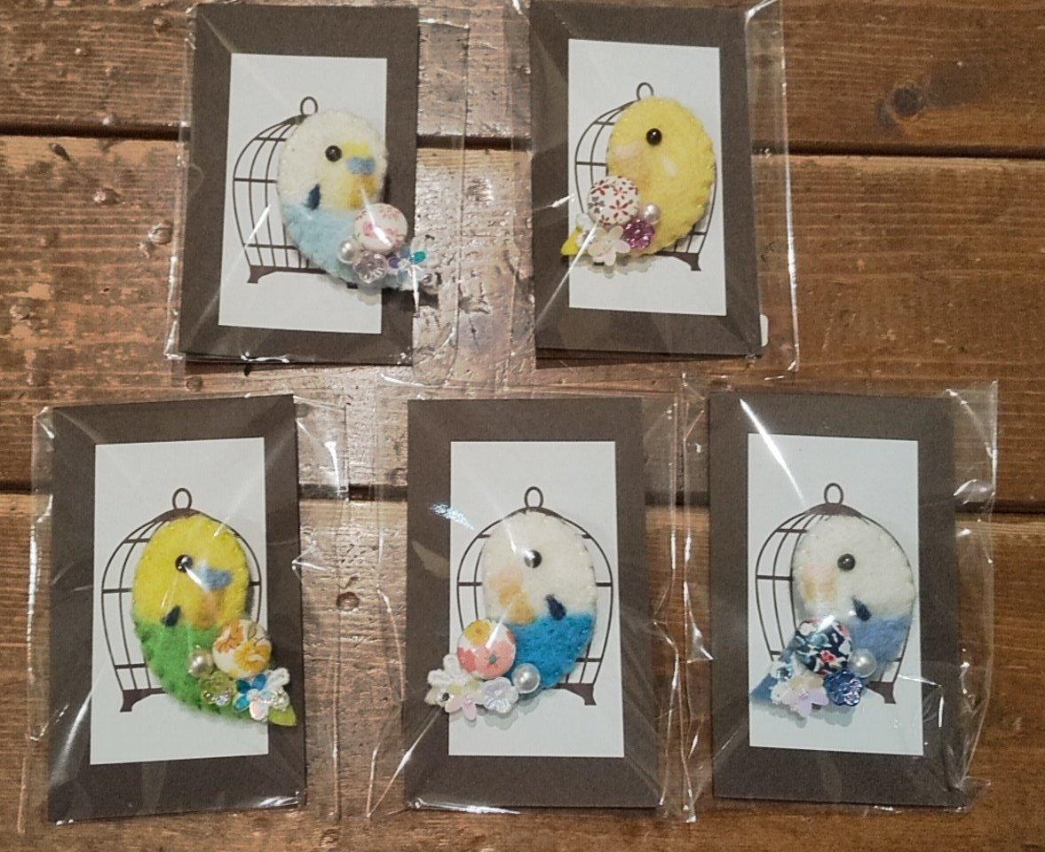 関西つうしん【鳥展 vol.10】Choco La♪ 作品紹介と通販受付します_d0322493_00554879.jpg