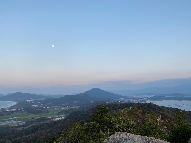 糸島十坊山の続きで夕日を見に立石山へ_f0232994_15155933.jpg