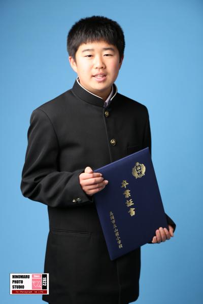 〜健太様・康太君 高校卒業、小学校卒業〜_b0203705_10325222.jpg